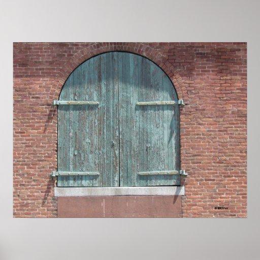 Poster - Warehouse Door
