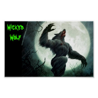 Poster: Wicked Wolf Poster