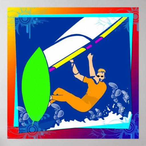 Poster Windsurfing