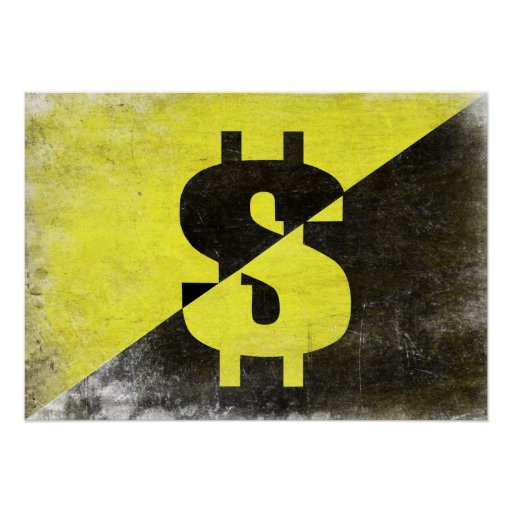 Poster with Cool Anarcho-Capitalist Flag