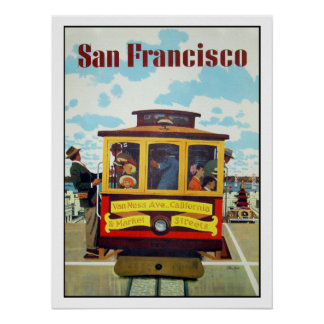 Poster with Cool San Francisco Print