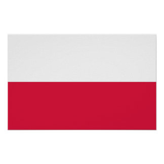 Poster with Flag of Poland
