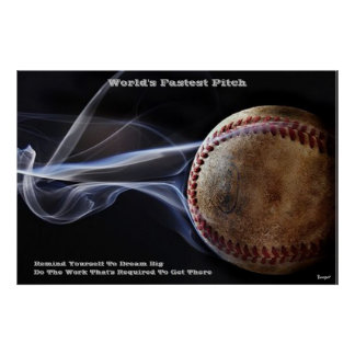 Poster - World's Fastest Pitch (dream big)