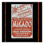 Poster-WPA Chicago-Mikado