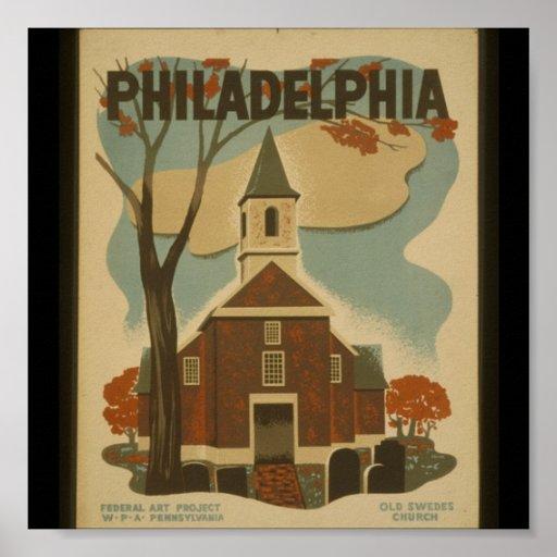 Poster-WPA-Philadelphia Póster