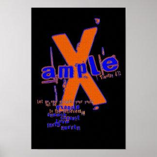 poster X-amplio