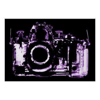 POSTER - X-RAY VISION CAMERA - PURPLE