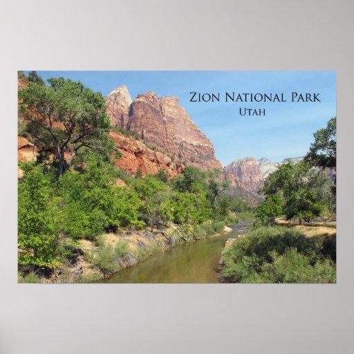 Poster:  Zion National Park, Utah Poster
