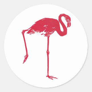 Poster Zoologischer Garten Munchen del viaje del Etiqueta Redonda