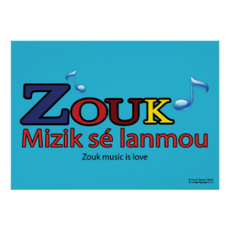 Poster ZOUK sé lanmou
