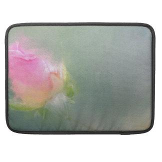 Posterg hermoso de los rosas del color funda macbook pro