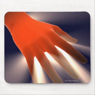 Posterior View of Right Hand. Mouse Pad