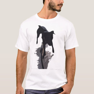 posterized dog and shadow T-Shirt