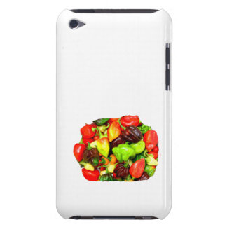 Posterized Hot Pepper Assortment Picture iPod Touch Cover