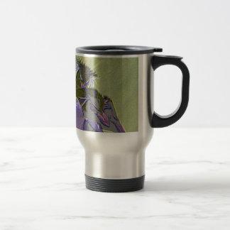 Posterized Penguins Travel Mug