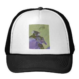 Posterized Penguins Trucker Hat
