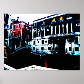 Posterized Venezia Poster