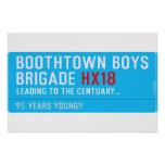 boothtown boys  brigade  Posters