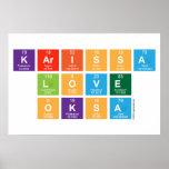 Karissa Love Oksa  Posters