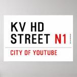 KV HD Street  Posters