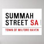 Summah Street  Posters