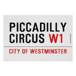 piccadilly circus  Posters