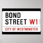 Bond Street  Posters