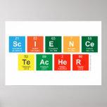 Science Teacher  Posters