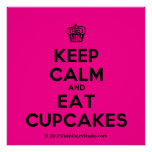 [Cupcake] keep calm and eat cupcakes  Posters