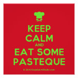 [Chef hat] keep calm and eat some pasteque  Posters