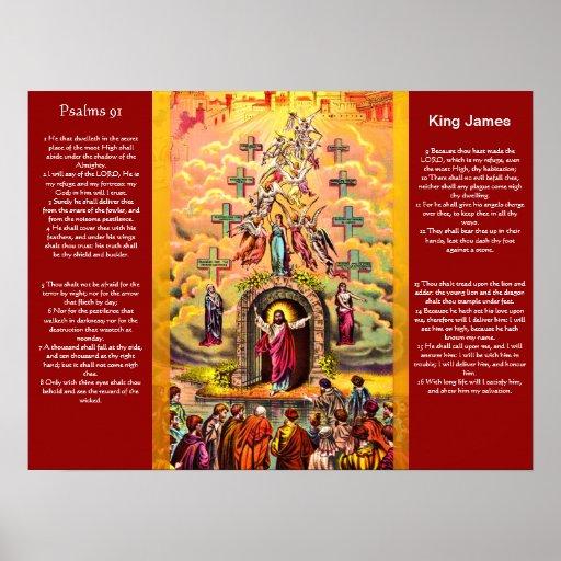 Posters 2 del capítulo 91 de los salmos