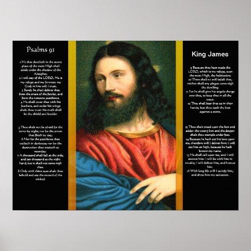 Posters 3 del capítulo 91 de los salmos