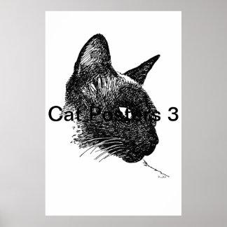 Posters 3 del gato