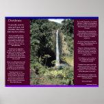 Posters 6 de las cascadas de los DESIDERÁTUMS