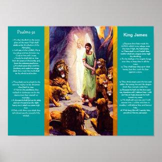 Posters 9 del capítulo 91 de los salmos