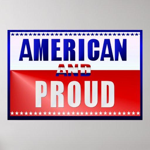 Posters americanos y orgullosos