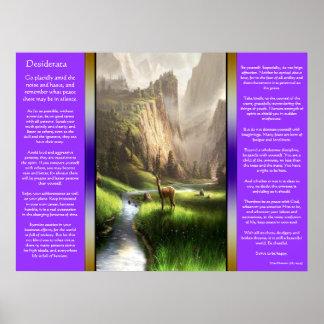 Posters de Deer Valley de los desiderátums