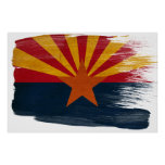 Posters de la bandera de Arizona