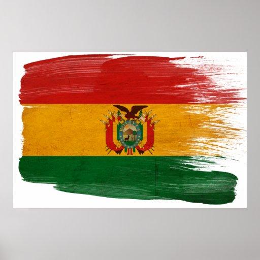 Posters de la bandera de Bolivia