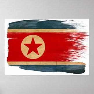 Posters de la bandera de Corea del Norte