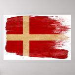 Posters de la bandera de Dinamarca
