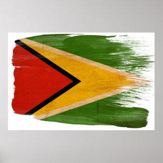 Posters de la bandera de Guyana