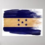 Posters de la bandera de Honduras