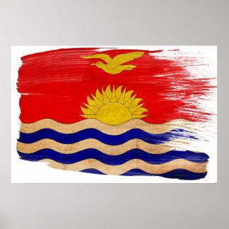Posters de la bandera de Kiribati