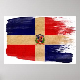 Posters de la bandera de la República Dominicana