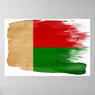 Posters de la bandera de Madagascar
