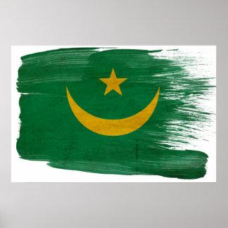 Posters de la bandera de Mauritania