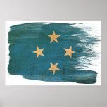 Posters de la bandera de Micronesia