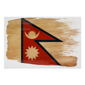 Posters de la bandera de Nepal