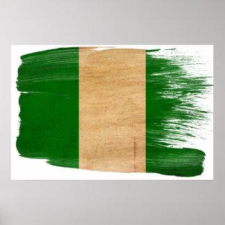 Posters de la bandera de Nigeria